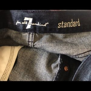 7 For All Mankind Jeans - 7 For All Mankind Mens Standard Jeans Size 34 X 35